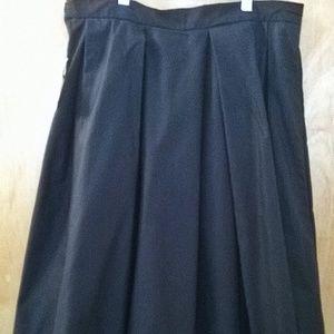 NWT - Pleated Full Midi Skirt